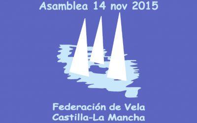 Asamblea Federación de Vela de CLM 2015