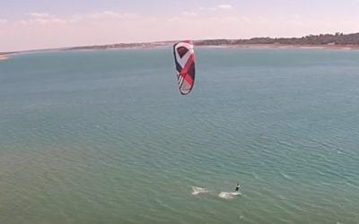 Xipi en Alarcón en Hydrofoil con drone
