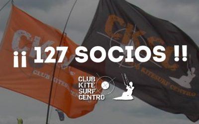 Somos 127… Nuevos socios CKSC 2016