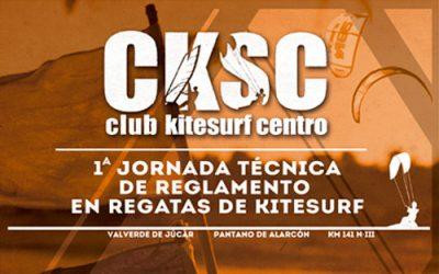 Jornada técnica de reglamento en regatas de kitesurf