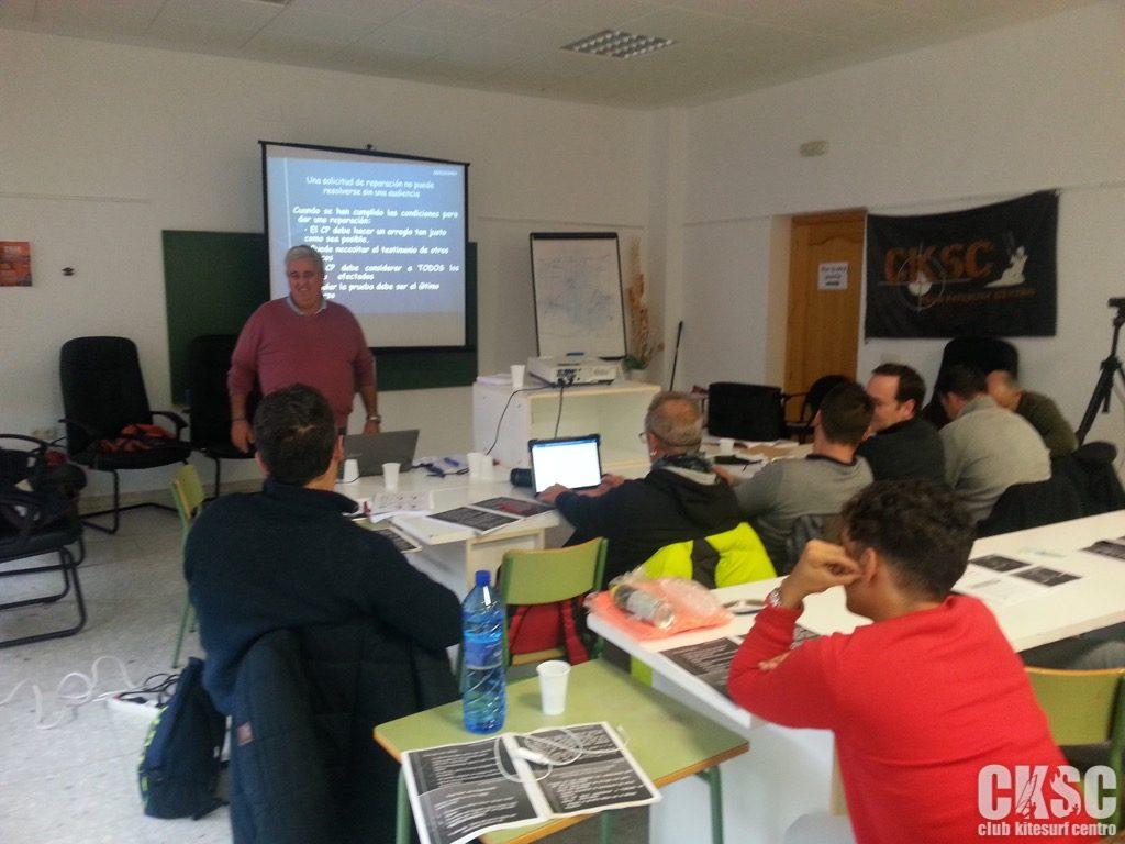 Curso Reglamentacion regatas club kitesurf centro 12