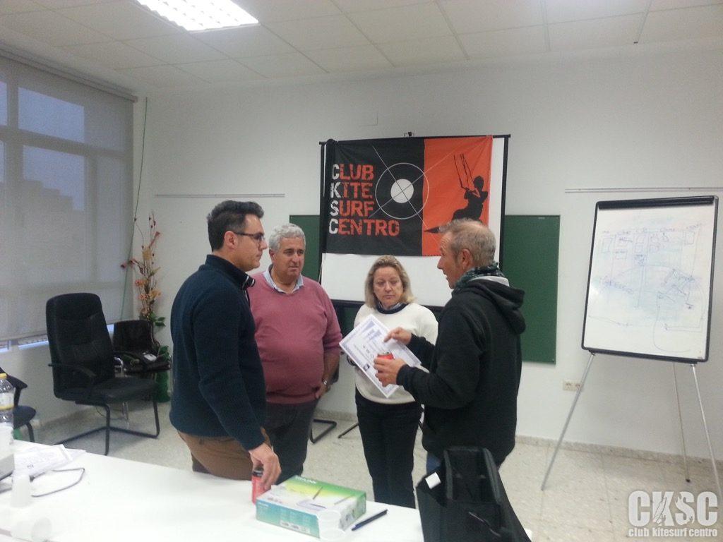 Curso Reglamentacion regatas club kitesurf centro 21