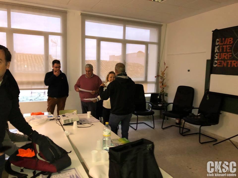 Curso Reglamentacion regatas club kitesurf centro 3