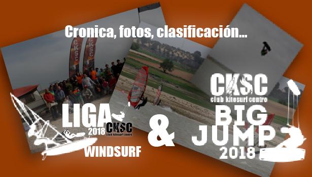 Big Jump y Liga Windsurf CKSC abril 2018